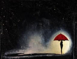 """Lluvia/Rain""Jorge Texeira, Expressionisnm, 39.3 Inches X 31.4 Inches, 2016, Oil On Canvas, Cuba. - Oils"