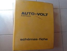 93 Schemas Et Fiches -auto-volt Electrauto - 1970 Et 1980 Voiture  Peugeot-bmw-renault-volvo Citroen Etc...pour Garage - Autres Plans