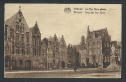 CPA - BRUGES - BRUGGE - Place Jan Var Eijck - Plaats    // - Brugge