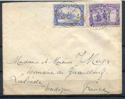 Belgian Congo 1934 - Cover Leopoldville To Lalinde France. Wax Seal - Belgian Congo