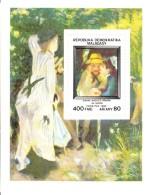 Madagascar MNH Scott #733 Souvenir Sheet 400fr 'Au Jardin' By Renoir - Impressionists - Madagascar (1960-...)