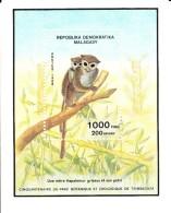 Madagascar MNH Scott #861 Souvenir Sheet 1000fr Lemurs In Tree - 150th Anniversary Tsimbazaza Park - Madagascar (1960-...)