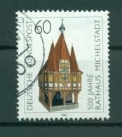 Allemagne -Germany 1984 - Michel N. 1200 - Hotel De Ville De Michelstadt - [7] République Fédérale