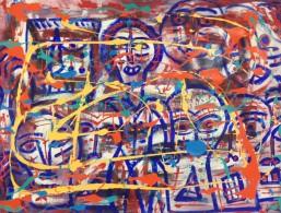 """Caras/Faces"" Jorge Rodríguez, Chromogenic Printing Cotton Canvas, 31.4 Inches X 39.3 Inches, 2015, Mexico - Oils"