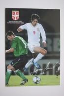 FOOTBALL ASSOCIATION OF SERBIA  - Modern Card -2000s - - Soccer - Fussball