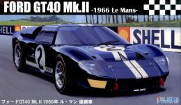Ford GT40 Mk.II 1966 Le Mans 1/24 ( Fujimi ) - Cars