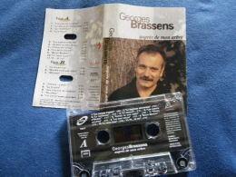 GEORGES BRASSENS K7 AUDIO VOIR PHOTO...ET REGARDEZ LES AUTRES (PLUSIEURS) - Audio Tapes