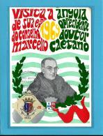 ANGOLA - Visita Do Presidente Do Concelho Prof. Dr. Marcelo Caetano - Carte Maximum Card Maxicard - Portugal - Maximumkaarten