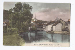 CPA SUISSE - VALLORBE - Partie Sur L'Orbe - TB PLAN D'un Quartier Du Village Avec Détails Autour Du Cours D'eau - VD Waadt