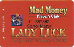 Lady Luck Casino Lula, MS - Slot Card - Casino Cards