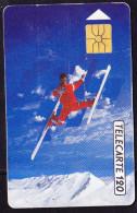 "Frankreich France - Telecarte 120 Mit Motiv ""Frystil Männer"" 12/91 - Gebraucht Used - France"