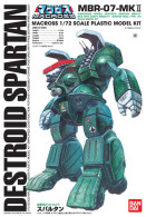 Macross Destroid Spartan 1/72 ( Bandai ) - SF & Robots