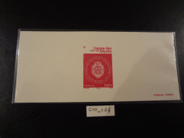 FRANCE 2016  1 Gravure   Caisse Des Dépôts Et Consignations - Frankreich