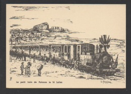 DF / 34 HERAULT / LE PETIT TRAIN DE PALAVAS LE 14 JUILLET / DESSIN DE G. JEANJEAN - Ohne Zuordnung