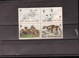 FINLAND Nº 1166 AL 1169 - W.W.F.