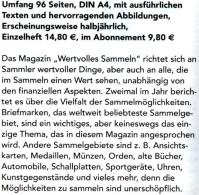 MICHEL Magazin Heft Nr. 4/2016 Wertvolles Sammeln Neu 15€ With Luxus Informationen Of The World Special Magacine Germany - Deutsch