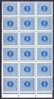 ** Tchécoslovaquie 1928 Mi P 62 (Yv 62) Bloc 18, (MNH) - Postage Due