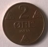 Monnaie - Norvège - 2 Ore 1939 - Superbe - - Norvège