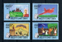 Antigua Und Barbuda 1986 Raumfahrt/Halleyscher Mi.Nr. 930/330 Kpl. Satz ** - Antigua Und Barbuda (1981-...)