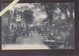 Asie - Indo Chine - Tonkin - Hanoi - Marché Au Village Des Cochons - Cartes Postales