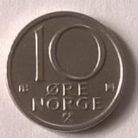 Monnaie - Norvège - 10 Ore 1976 - Superbe - - Norvège