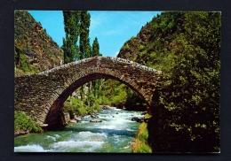 ANDORRA  -  San Antonio Roman Bridge  Used Postcard As Scans - Andorra