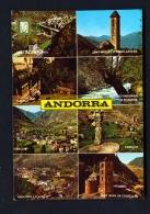 ANDORRA  -  Multi View  Used Postcard As Scans (light Creasing) - Andorra