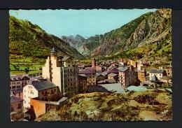 ANDORRA  -  Andorra La Vella  Panorama  Used Postcard As Scans - Andorra