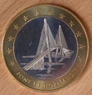 10 Euro Bicolore De La Ville Du Havre / Pont De Normandie - Euro Delle Città