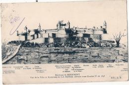 Environs De Bourmont Vue De La Ville Et Forteresse De La Mothe .. TTBE  Voyagé - Andere Gemeenten
