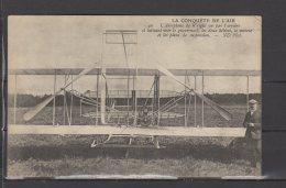 La Conquete De L'air - L'aeroplane De Wright Vu Par L'arriere ... - Aviateurs
