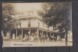 Etats Unis - Southington - Bradley House - Carte Photo Animée - Hartford