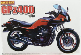 Kawasaki GPZ400  1983 1/12 ( Aoshima ) - Motorcycles