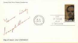 Canada - FDC 16-05-1973 - 100. Todestag Von Joseph Howe - M 525 - Omslagen Van De Eerste Dagen (FDC)