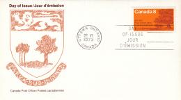 Canada - FDC 22-06-1973 - 100. Jahrestag Des Eintritts Von Prince Edward Island In Die Konföderation  - M 527 - Omslagen Van De Eerste Dagen (FDC)