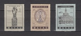 Macau 1952,3V,set,400 Deathday Francis Xavier,MLH/MNH/Ongebruikt/Postfris(A2515) - 1999-... Speciale Bestuurlijke Regio Van China