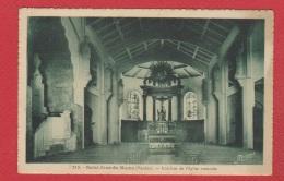 St Jean De Monts  --  Intérieur De L Eglise Restaurée - Saint Jean De Monts