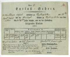 RÜHLINGSTETTEN / WILBURGSTETTEN Ansbach 1812 - Schulzeugnis Ziegelmayr Bäurle - Documents Historiques