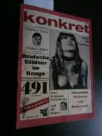 Konkret Februar 1965 : Kongo, Pierre Mulele, Ulrike Meinhof, Günther Grass, Lenz - Revues & Journaux