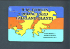 FALKLAND ISLANDS  -  Remote Phonecard As Scan/Military Use Only - Falkland Islands