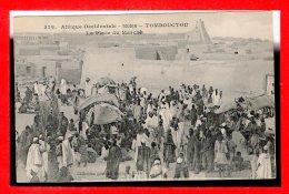 SOUDAN -- Tombouctou -- La Place Du Marché - Soudan