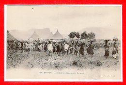 SOUDAN -- Arrivée D'une Carravane De Porteurs - Soudan