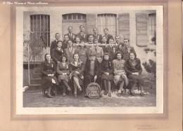 CHANAS - CONSCRITS CLASSE 1941 - ISERE 38 - PHOTO GRAND FORMAT SUR SUPPORT CARTONNE - COCHARD ST RAMBERT D ALBON - Personnes Anonymes