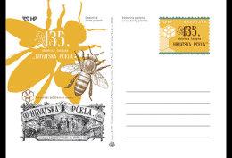 Croatia 2016 Stamp & Post Cards - 135th Anniversary Of The Magazine Croatian Bee - Croatie