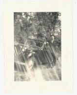 Photo Ancienne Homme & Citroën Traction - Automobiles