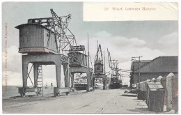 Mozambique - Wharf, Lourenco Marques – Peters – Postmark 1906 - Mozambique