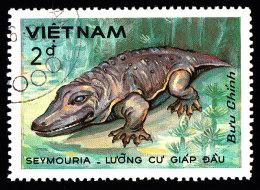 VIET NAM DEMOCRATIC REPUBLIC - Scott #1432 Seymouria / Used Stamp - Vietnam