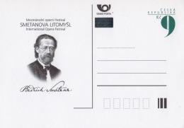 "Czech Republic, Postcards Released To The International Opera Festival ""Smetana´s Litomyšl"" (birthplace B.Smetany) - Music"