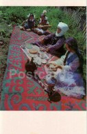 Visiting - National Costumes - 1974 - Kyrgyzstan USSR - Unused - Kirghizistan
