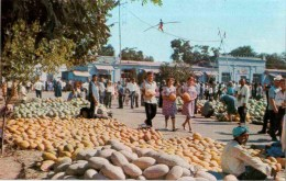 Osh Bazaar - Melon - Bishkek - 1974 - Kyrgyzstan USSR - Unused - Kirghizistan